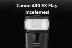 Canon Speedlite 430 EX Flaş