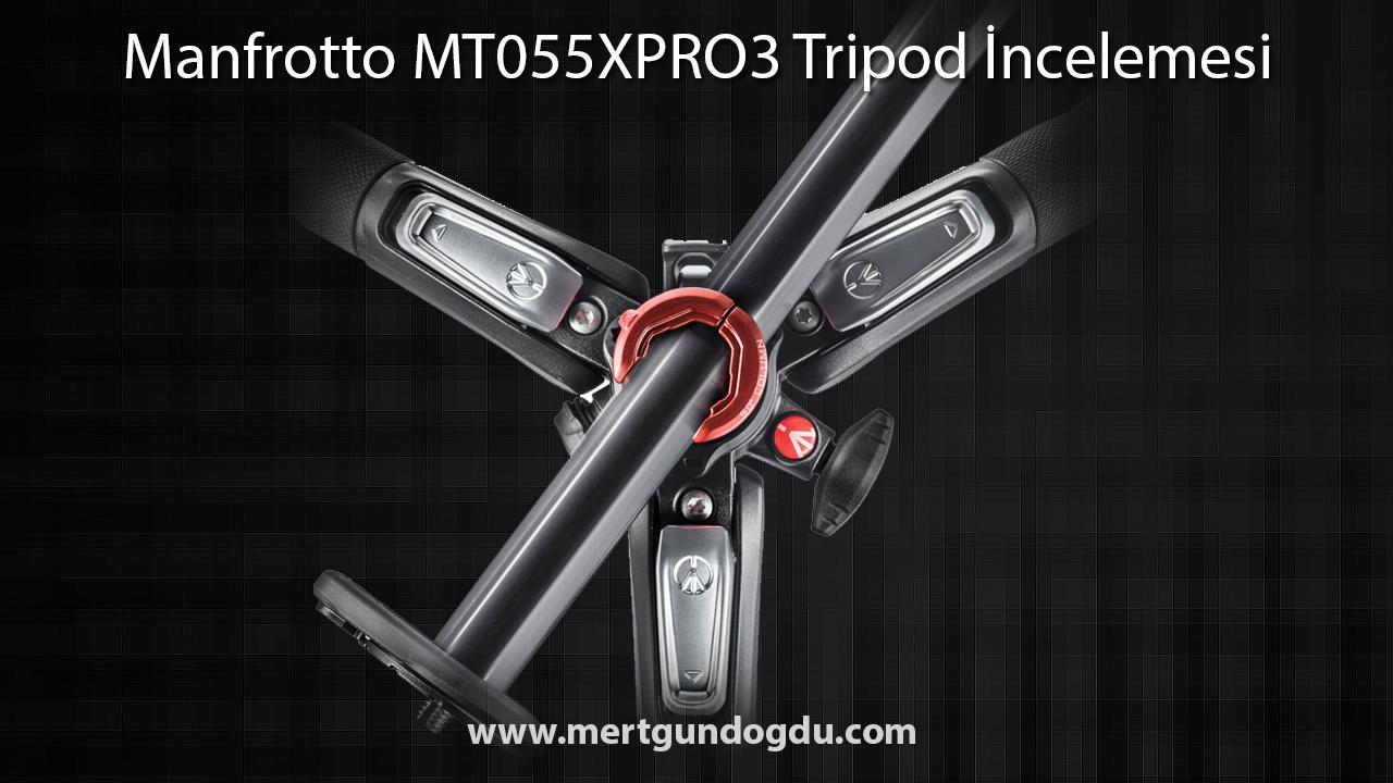 Manfrotto MT055XPRO3 Tripod