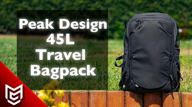 Peak Design Travel Bag Pack 45L