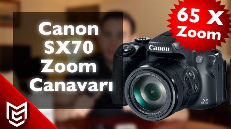 Canon SX70 İnceleme